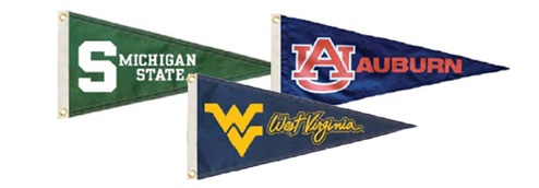 University pennants college pennants collegiate pennants nylon pennant mozeypictures Image collections